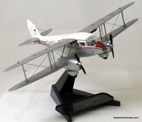 ONLY ONE - Oxford 1:72 D.H. 89 Dragon Rapide G-AFEZ (BEA) 72DR001