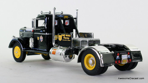 Eligor 1:43 1938 Kenworth Race Tractor: BLACK CAT Scale Company