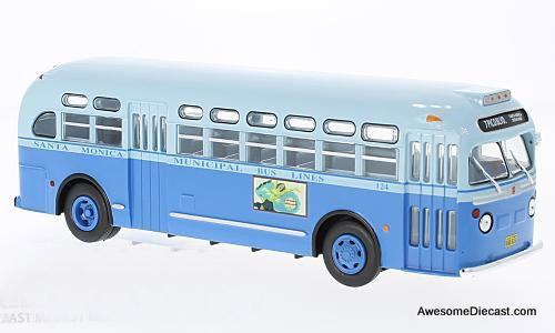IXO 1:43 1955 TDH-3714 Transit Bus: Santa Monica Transit