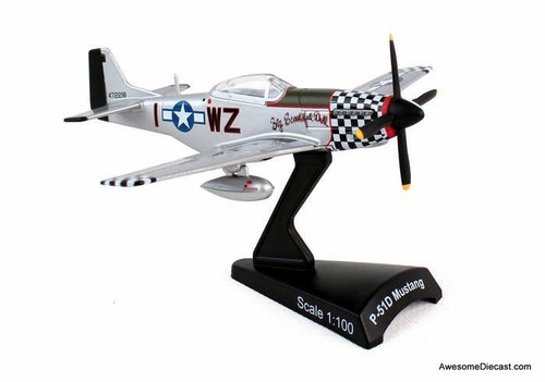 Postage Stamp 1:100 P-51D Mustang: Big Beautiful Doll