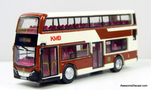 Tiny Enviro 400 Double Decker Bus: KMB / Kowloon Motor Bus