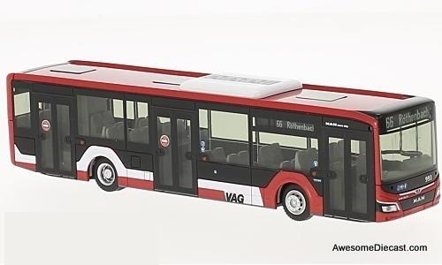 Rietze 1:87 Man Lions City Transit Bus:  VAG Nuremberg
