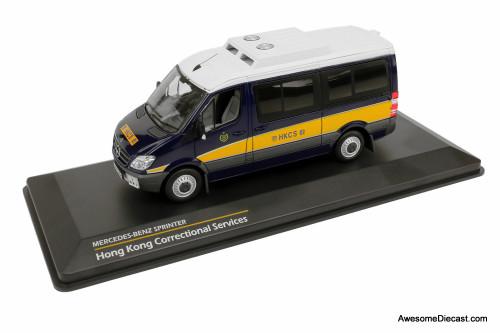 Tiny 1:43 Mercedes-Benz Sprinter Hong Kong Correctional Services