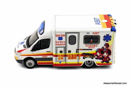 Tiny Mercedes-Benz Sprinter Ambulance Hong Kong Medical Services