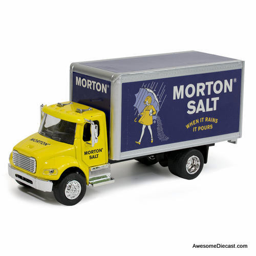 MNDs 1:50 Freightliner M2 Box Truck: Morton Salt