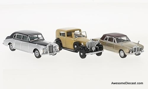 Oxford 1:76 Rolls Royce 3 piece Set