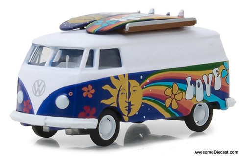 Greenlight 1:64 1971 Volkswagen Type 2 Van w/ Surfboards