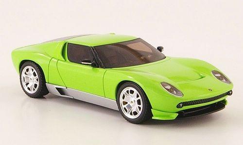 Elite 1:43 Lamborghini Miura Concept: Green
