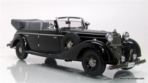 Signature Models 1:43 1938 Mercedes-Benz 770 Convertible Parade Car