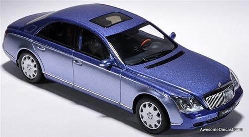 AUTOart 1:43 Maybach 57 SWB: Bright Metallic Blue