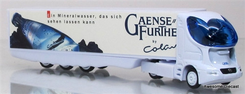 FuturRigs 1:87 Carolinen SST Trailer Truck: Gaense Further Water Co.