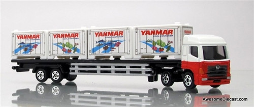 Tomica Hino Cool Cargo Container Trailer Truck: Yanmar