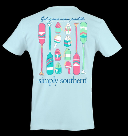 Simply Southern Get Your Own Paddle Cotton Tee Shirt