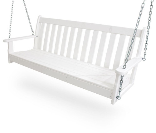 Vineyard 5 ft Porch Swing w Heavy Chains Polywood ® Outdoor Furniture sku GNS60