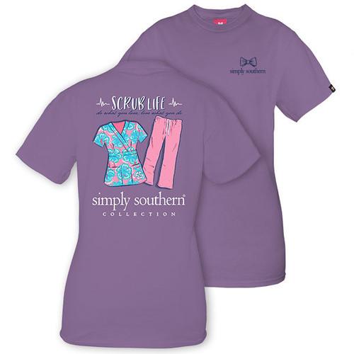 Do What You Love Nurse Scrubs Love What You Do Simply Southern Cotton Tee Shirt
