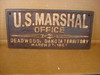 U.S. Marshal Office Deadwood Western Plaque