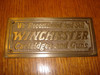 Winchester Cartridges and Guns  Western Plaque