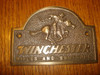 Winchester Rifles and Shotguns Rider  Western Plaque