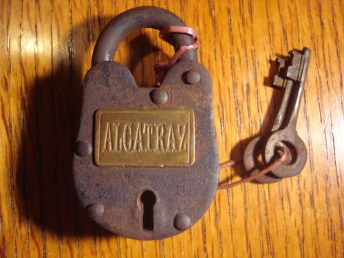 Alcatraz Prison Lock