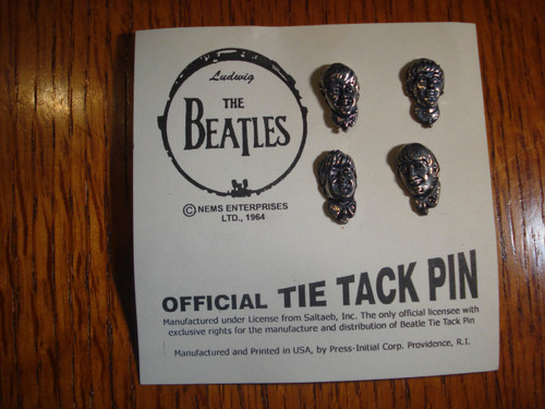 The Beatles Tie Tac Pin