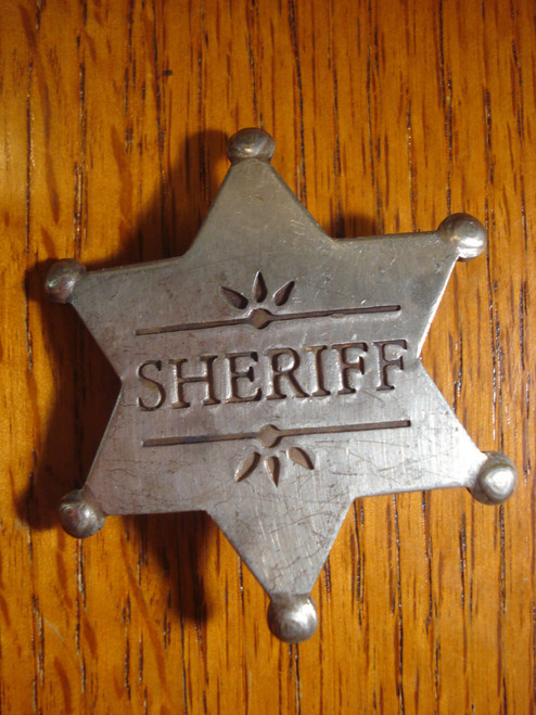 Sheriff Western Badge