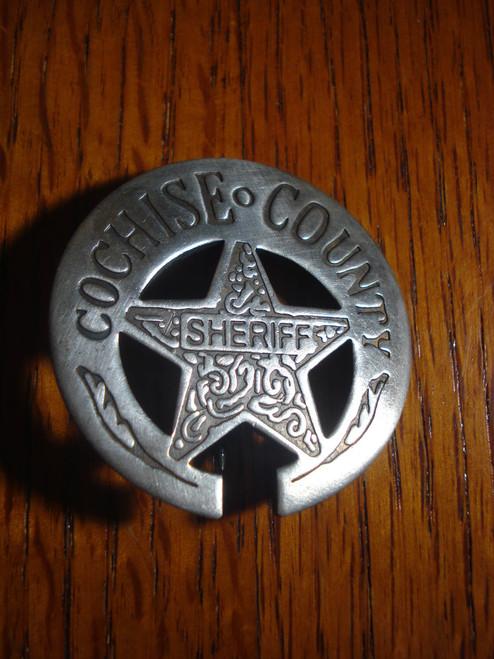 Cochise County Sheriff Western Badge