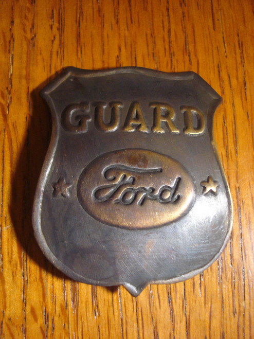 Ford Guard Western Badge
