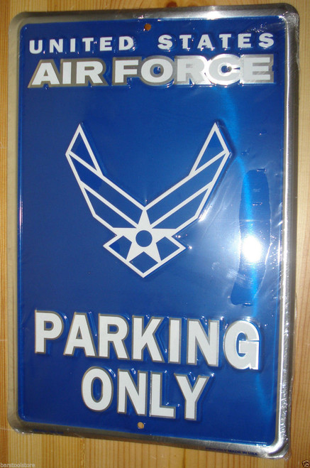 Air Force Metal Parking Sign