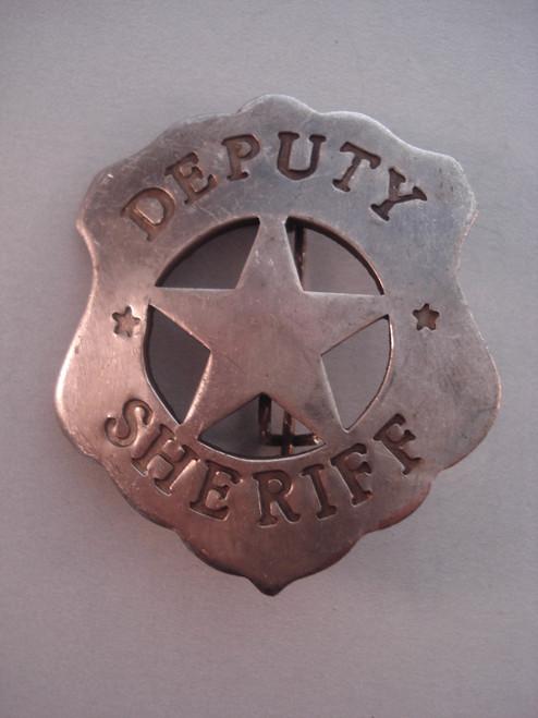 Deputy Sheriff Western Badge
