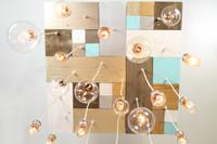 24 Pendant Mosaic Chandelier