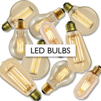 LED bulb option.