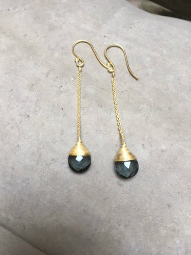 Earrings -  London Blue Topaz