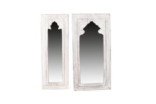 Mirrors - Hanging White