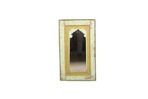 Mirror - Green Distressed