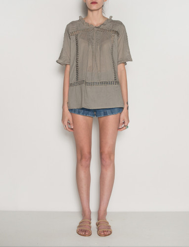 Galli Top -  Grey