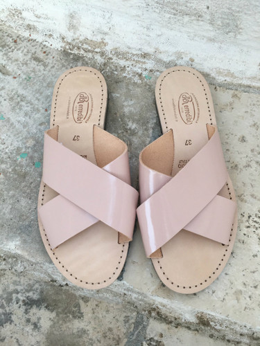 Alessia Sandal - Blush/Tan