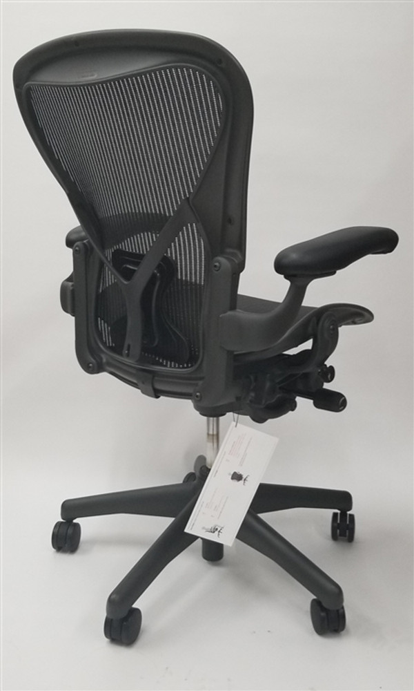 Herman Miller Aeron Chair Size B (or C) Basic Model With Posturefit