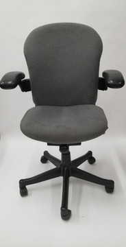Herman Miller Reaction Chair in Charcoal Gray