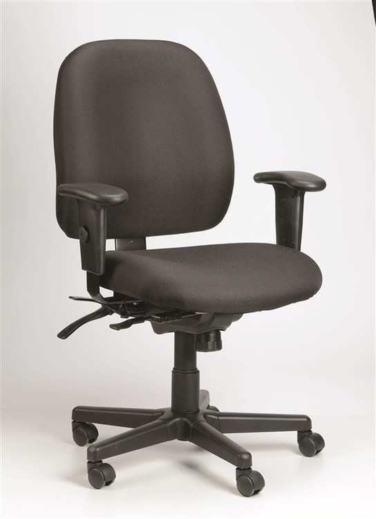 Eurotech 4x4 Task Chair in Black