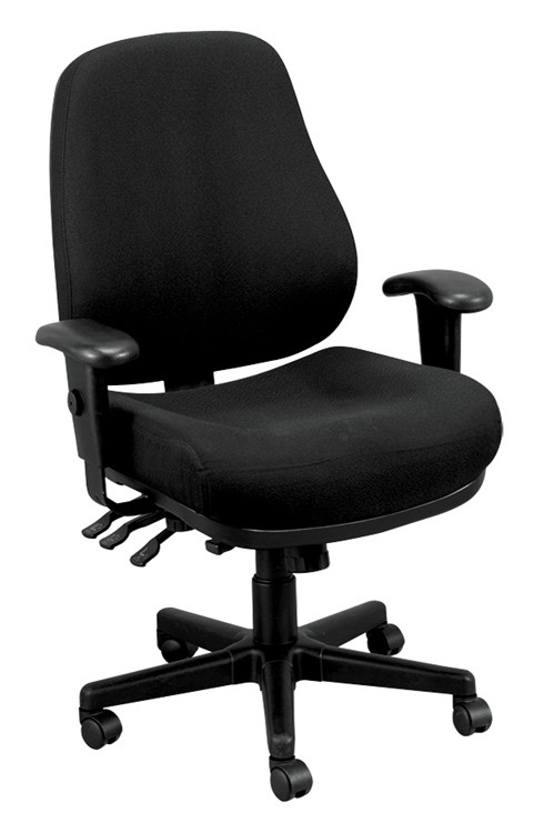 Eurotech 24/7 Office Chair in Black