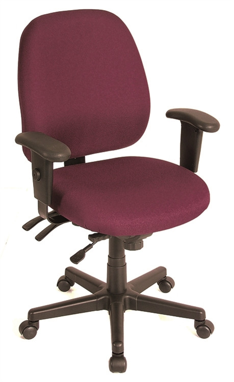 Eurotech 4x4 Task Chair in Burgundy