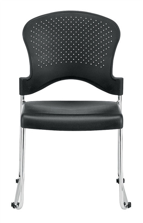 Eurotech Aire Stack Chair in Black