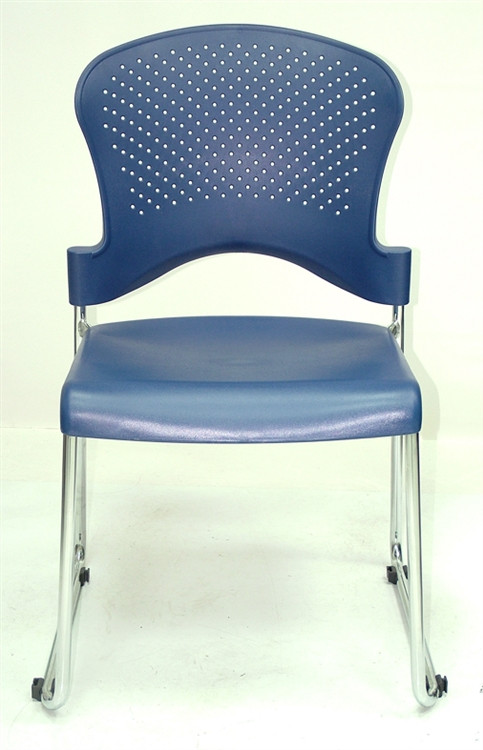 Eurotech Aire Stack Chair in Navy