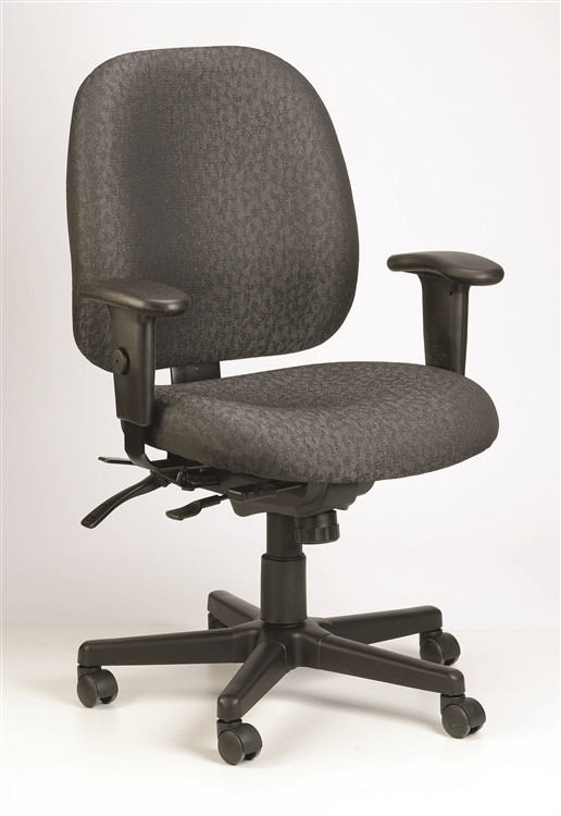 Eurotech 4x4 Task Chair in Charcoal