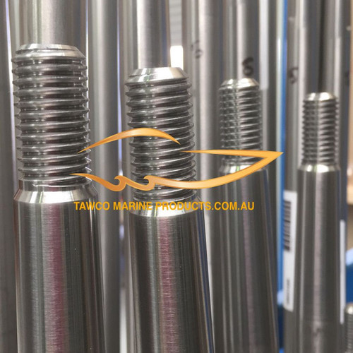 """Boat shafts 1"""" diameter with length options"""