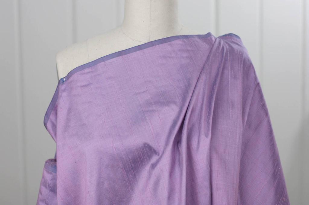 Lavender Silk Dupioni