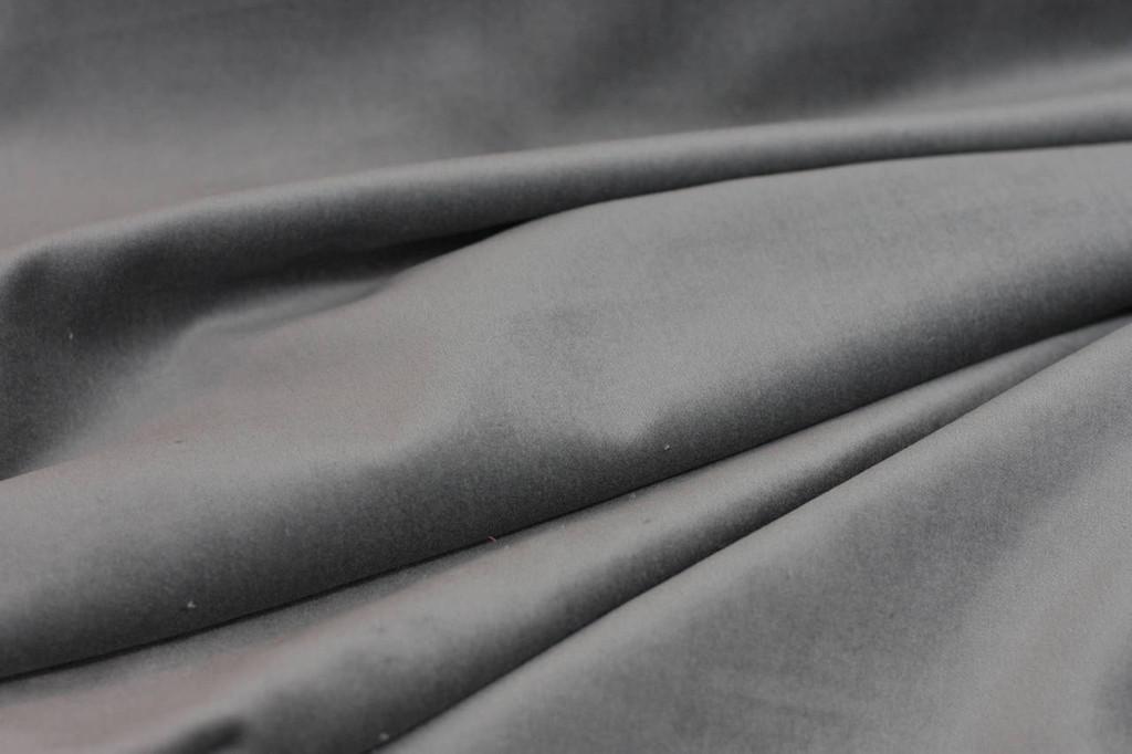 Steel Grey Velveteen
