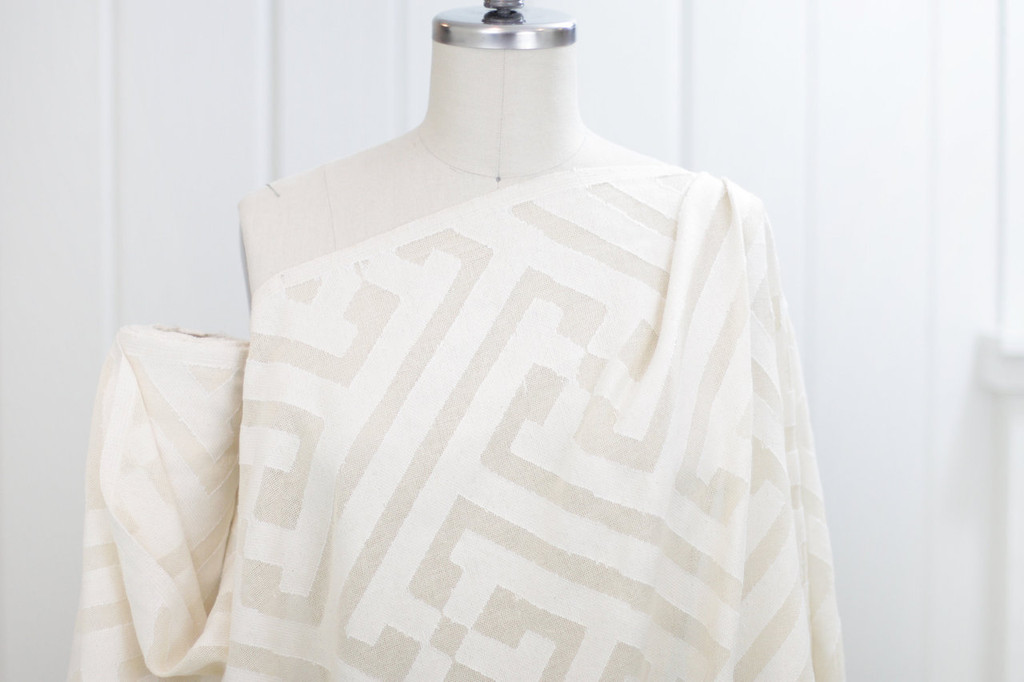 Cotton Cutwork Squares