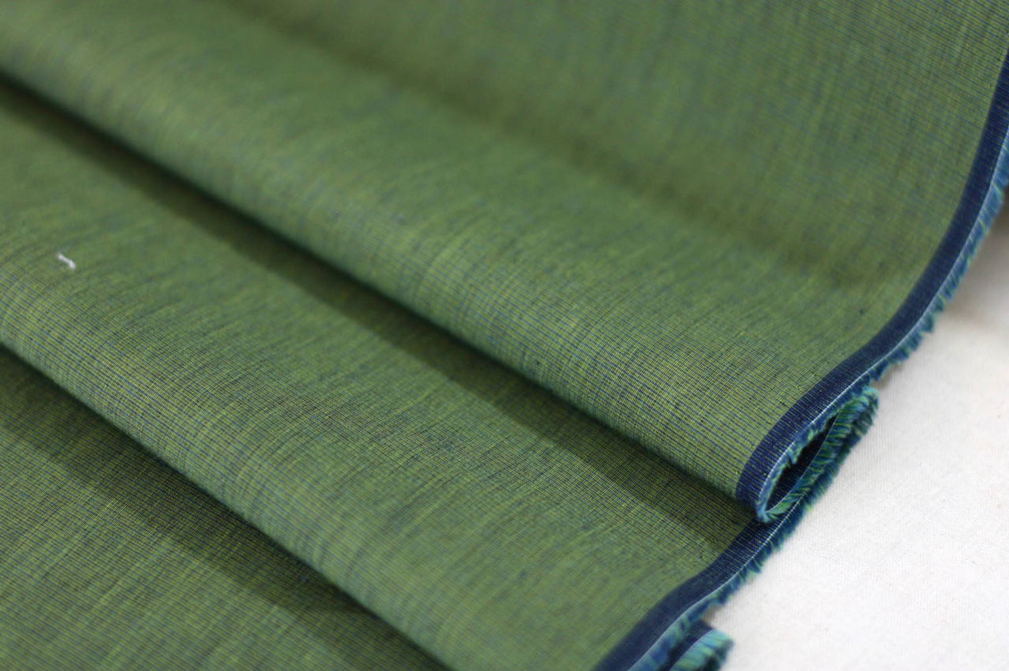 Moss Cotton Shirting