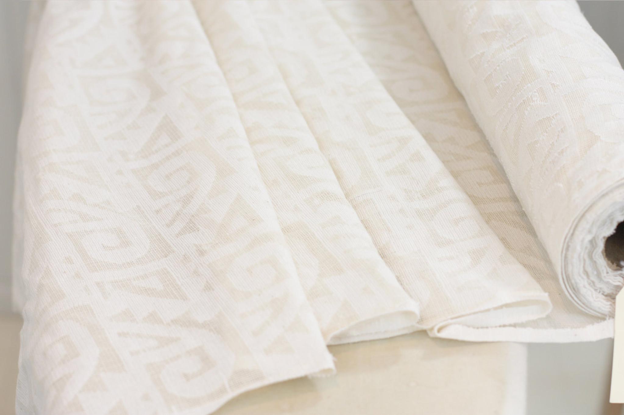 Cotton Cutwork Spirals